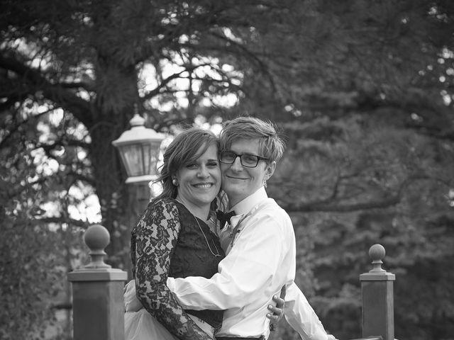Josh and Adria's Wedding in Franktown, Colorado 42