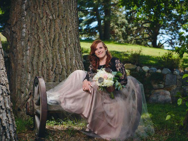 Josh and Adria's Wedding in Franktown, Colorado 43