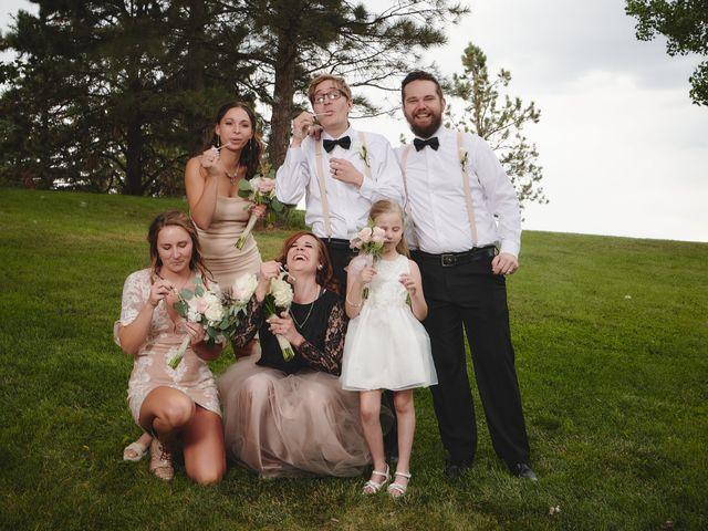 Josh and Adria's Wedding in Franktown, Colorado 46