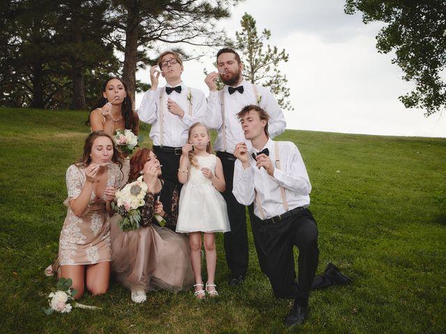 Josh and Adria's Wedding in Franktown, Colorado 47
