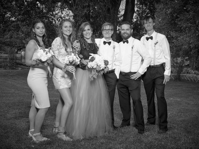 Josh and Adria's Wedding in Franktown, Colorado 48