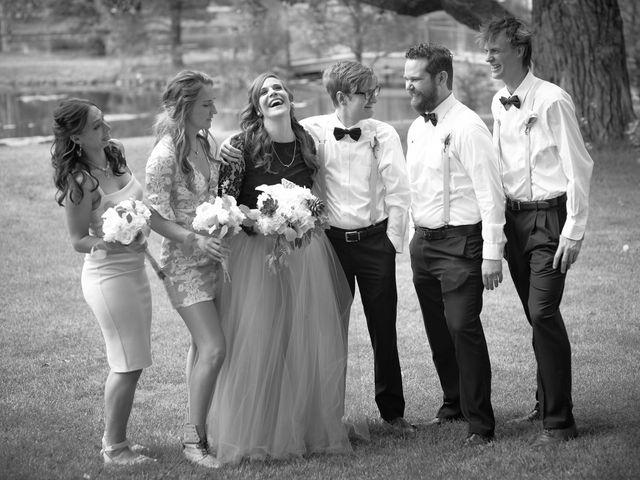 Josh and Adria's Wedding in Franktown, Colorado 49