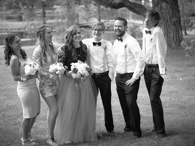 Josh and Adria's Wedding in Franktown, Colorado 50