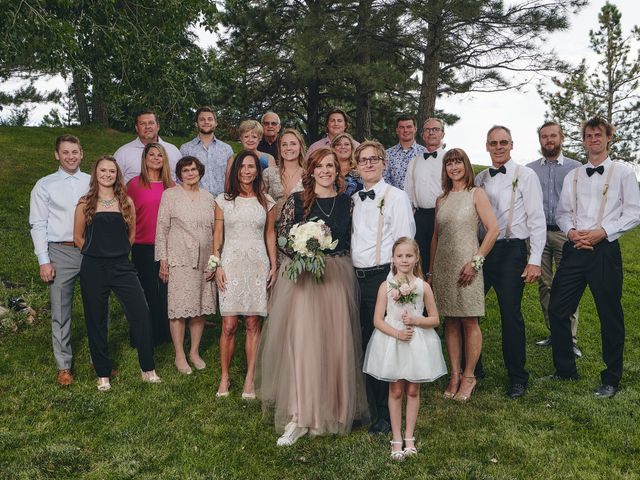 Josh and Adria's Wedding in Franktown, Colorado 52