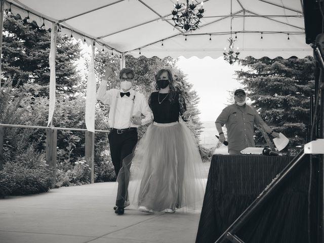 Josh and Adria's Wedding in Franktown, Colorado 53