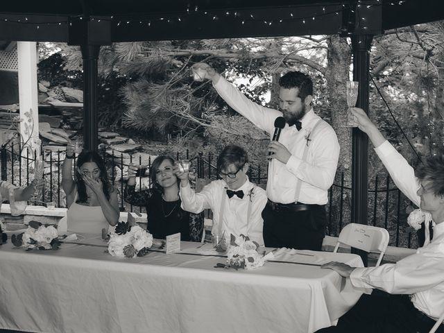 Josh and Adria's Wedding in Franktown, Colorado 55
