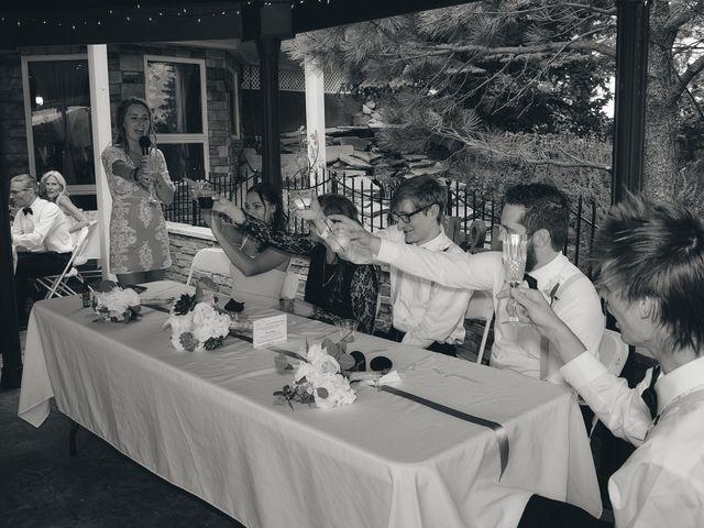 Josh and Adria's Wedding in Franktown, Colorado 56