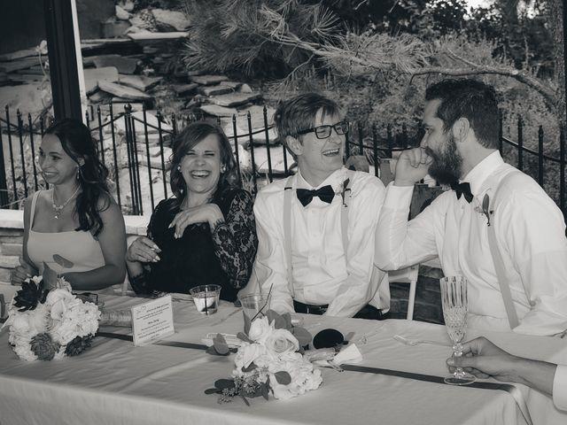 Josh and Adria's Wedding in Franktown, Colorado 57