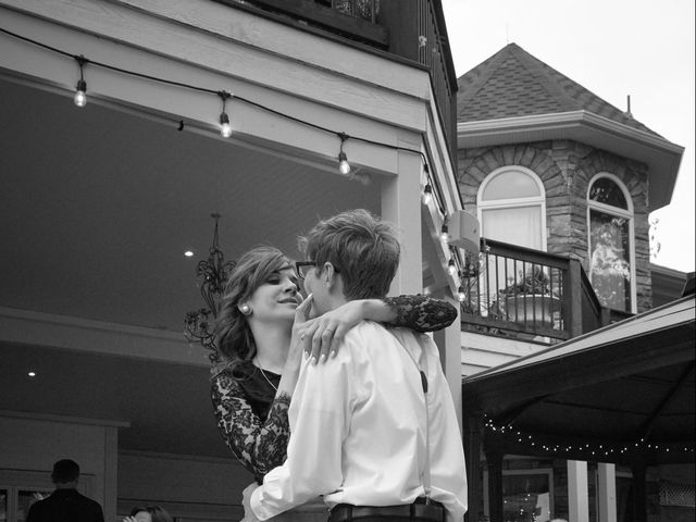Josh and Adria's Wedding in Franktown, Colorado 62