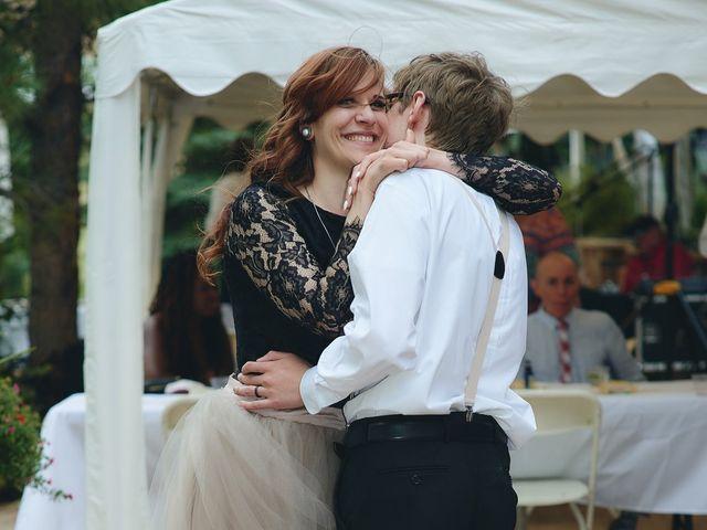 Josh and Adria's Wedding in Franktown, Colorado 67