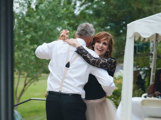 Josh and Adria's Wedding in Franktown, Colorado 68