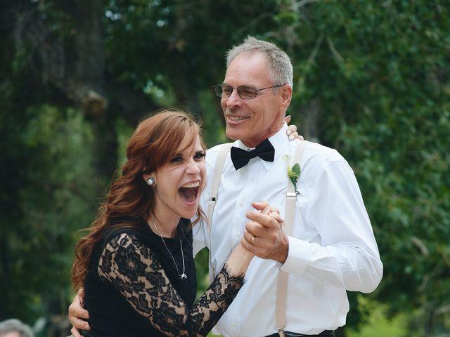 Josh and Adria's Wedding in Franktown, Colorado 70