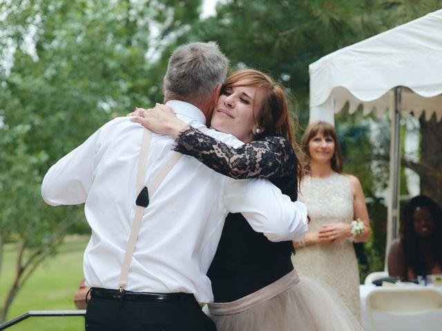 Josh and Adria's Wedding in Franktown, Colorado 71