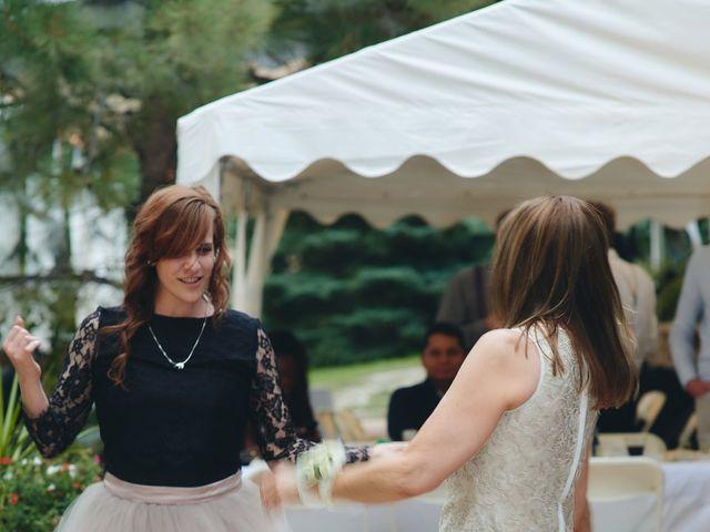 Josh and Adria's Wedding in Franktown, Colorado 73