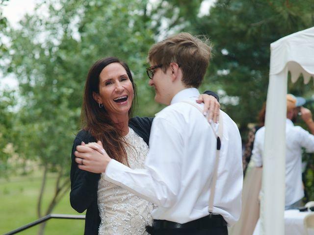 Josh and Adria's Wedding in Franktown, Colorado 74