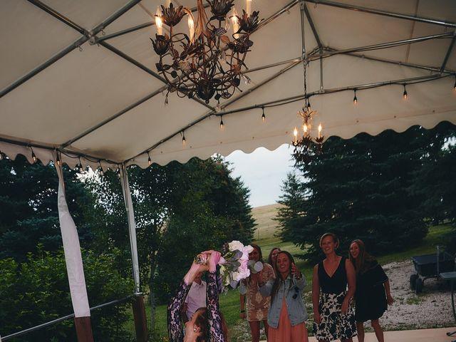 Josh and Adria's Wedding in Franktown, Colorado 75