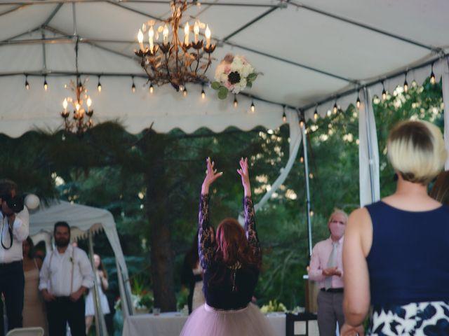 Josh and Adria's Wedding in Franktown, Colorado 76