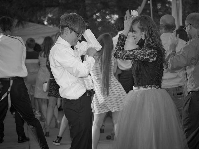 Josh and Adria's Wedding in Franktown, Colorado 79