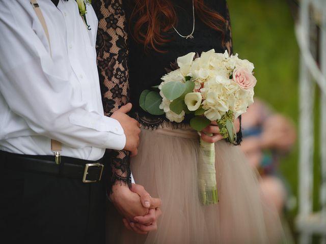 Josh and Adria's Wedding in Franktown, Colorado 84