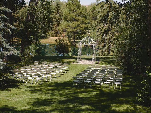 Josh and Adria's Wedding in Franktown, Colorado 89
