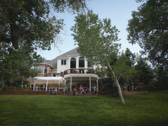 Josh and Adria's Wedding in Franktown, Colorado 93