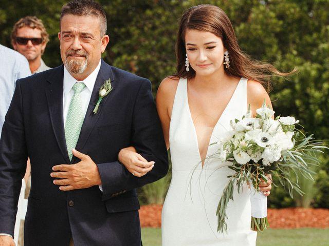 Jared and Bailey's Wedding in Manteo, North Carolina 16