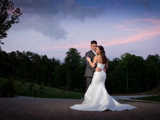 The wedding of Paige and James