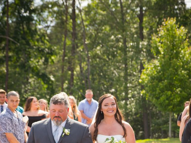 James and Paige's Wedding in Sunset, South Carolina 16