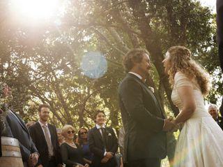 The wedding of Morgan and Kayte 1