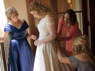 The wedding of Morgan and Kayte 2