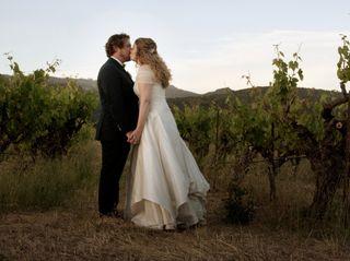 The wedding of Morgan and Kayte