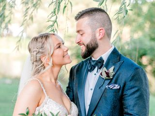 The wedding of Tasha and Jason
