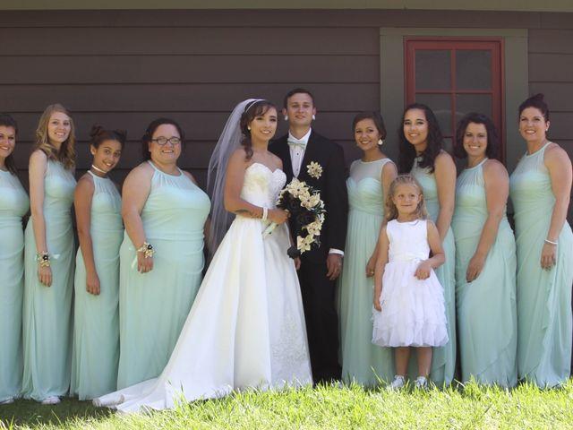 Stephanie and Zack's Wedding in Silverthorne, Colorado 9