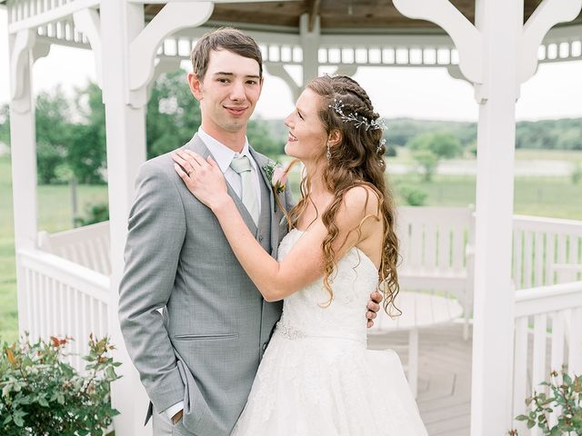 The wedding of Katherine and John