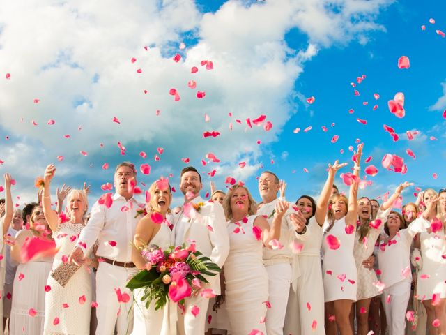 Chris Briggs-Lawrance and Lauren Petroff's Wedding in Providenciales, Turks and Caicos 2