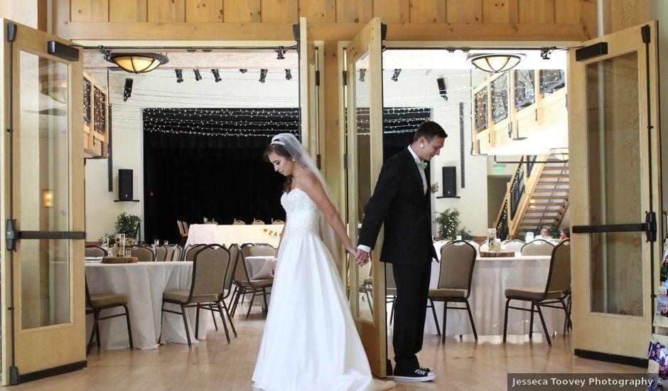 Stephanie and Zack's Wedding in Silverthorne, Colorado