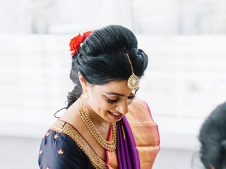 The wedding of Sheela and Mahad 1