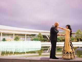 The wedding of Sheela and Mahad