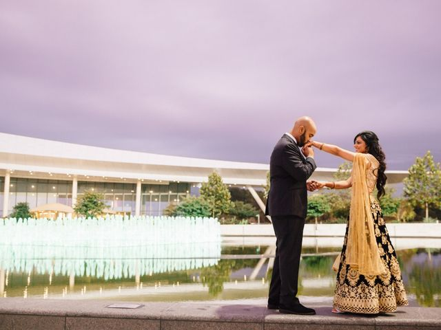The wedding of Sheela and Mahad