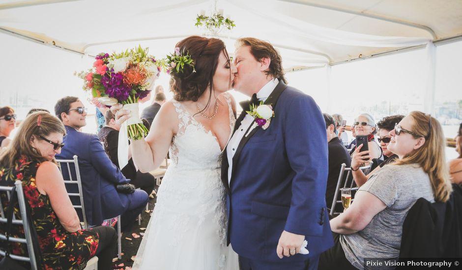 Pam and Lynn-Ann's Wedding in Newport Beach, California