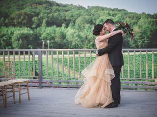 The wedding of Nawara and Justin