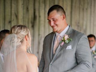 The wedding of Haleigh and Landon 1