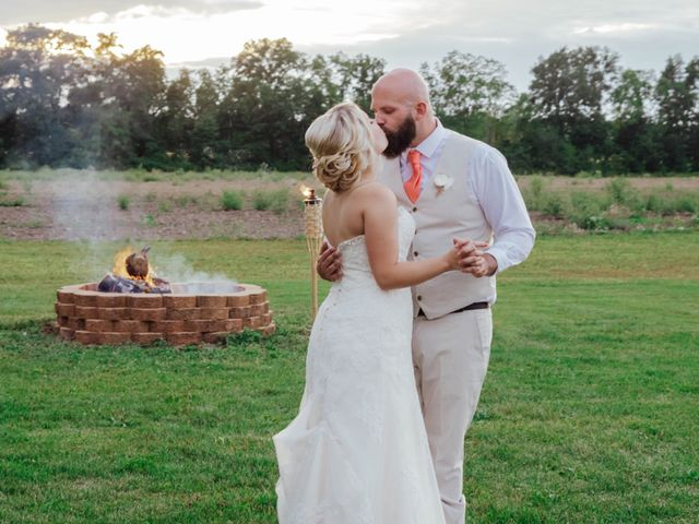 The wedding of Sommer and Dan