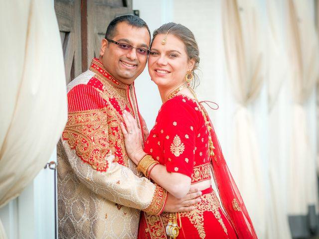 The wedding of Jatin and Magali