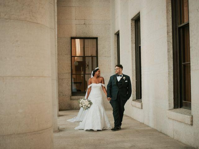 The wedding of Melinda and Jordan