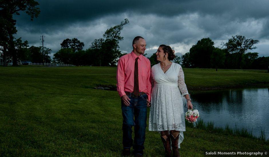 Jason and Crissie's Wedding in Wills Point, Texas