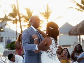 The wedding of Tameka and Moses 1