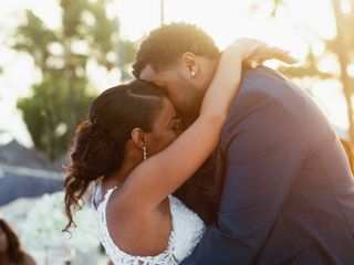 The wedding of Tameka and Moses 2