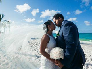 The wedding of Tameka and Moses