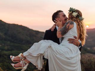 The wedding of Melanie and Aaron